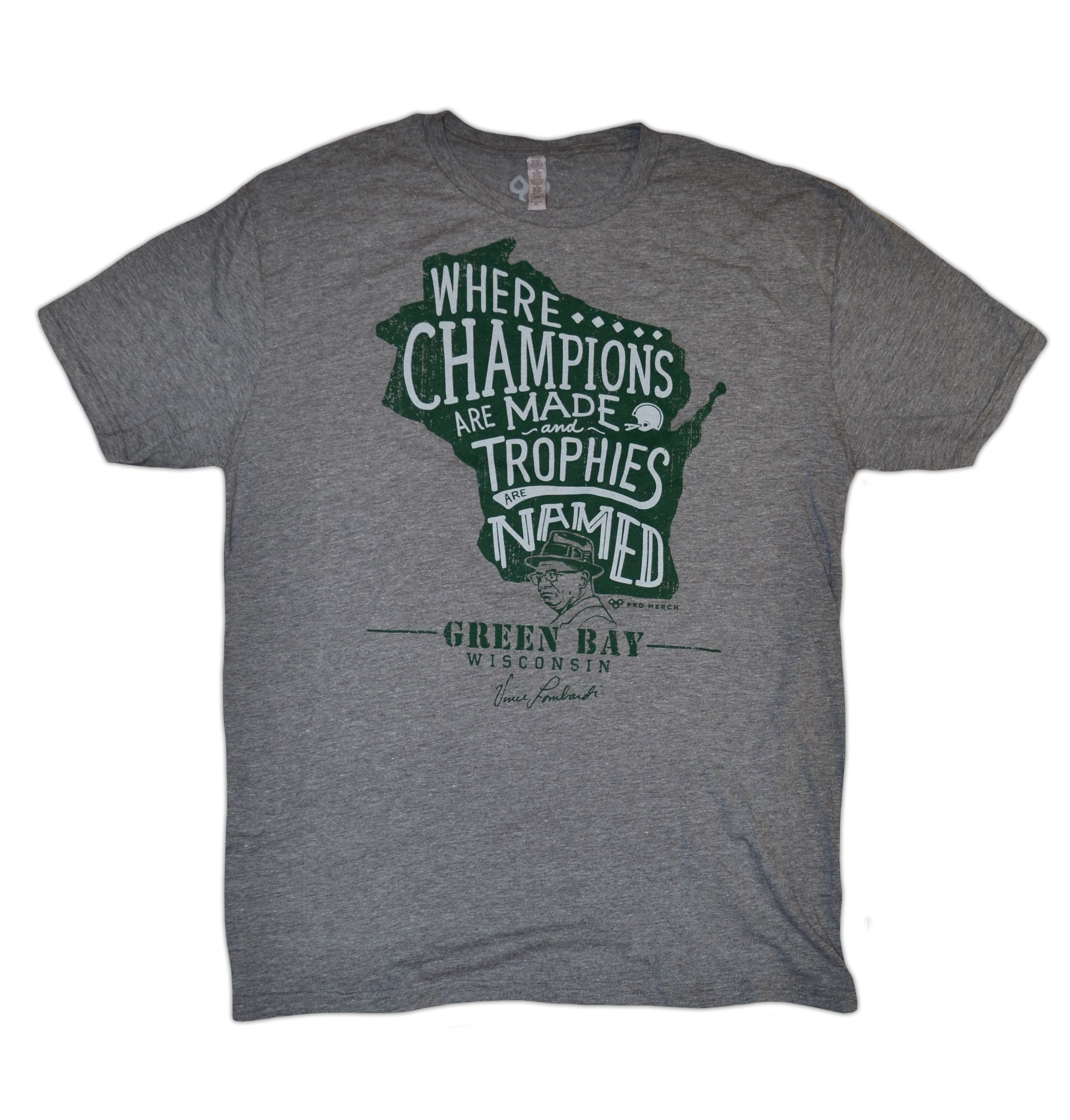 Brand new Vince Lombardi shirt now up online at www.mypromerch.com. Get one for the holidays!!