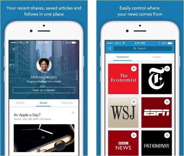 LinkedIn Releases Brand New 'LinkedIn Pulse' News Reader