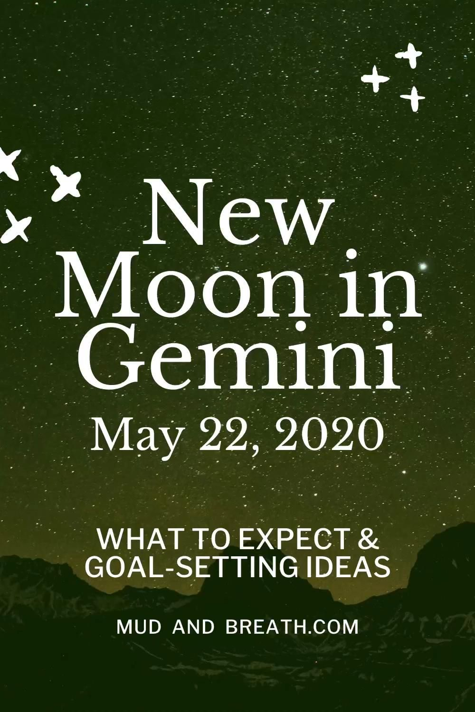 May New Moon In Gemini