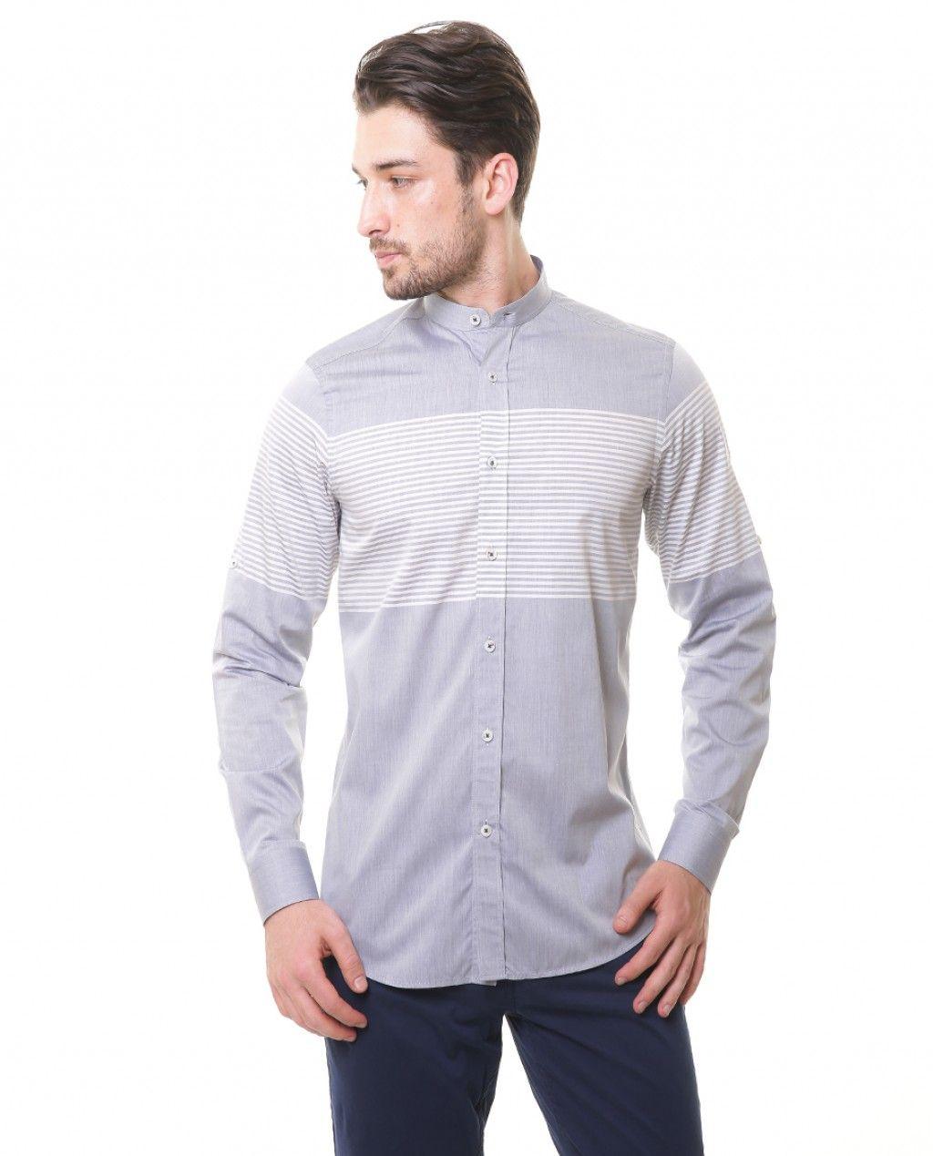 9052a4ffc79ff Karaca Erkek Gömlek - Lacivert #mensfashion #shirt #gomlek #karaca  #ciftgeyikkaraca www.karaca.com.tr