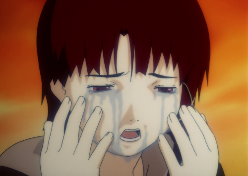 serial experiments lain Anime, Concept art characters