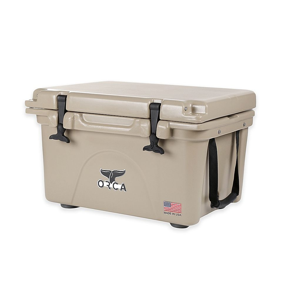 Orca 40 Qt Ice Retention Cooler In Tan Cooler Orca Yeti Cooler