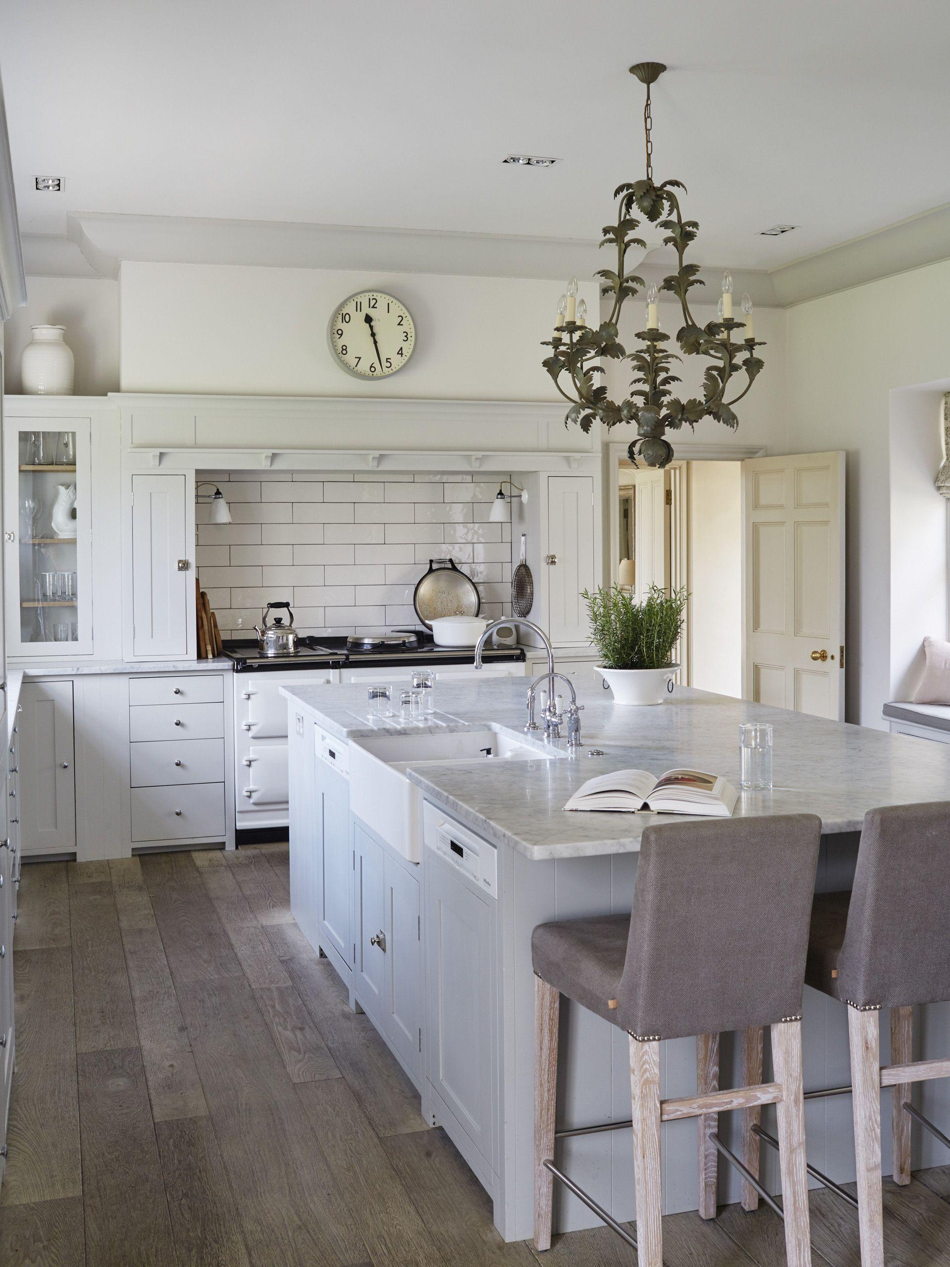 Interior Design Open Kitchen: Sims Hilditch Georgian Rectory House Kitchen