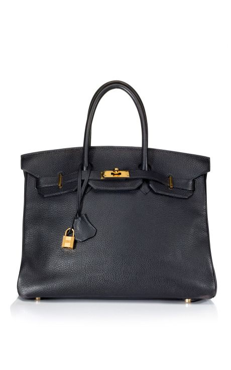 4cfe6bbe35 just a Black Leather Birkin | after all I do want a bag and clutch ...