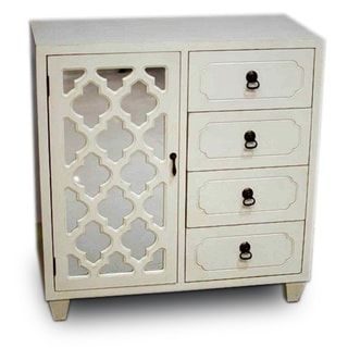 Best Heather Ann Creations 4 Drawer Wooden Accent Chest And 400 x 300