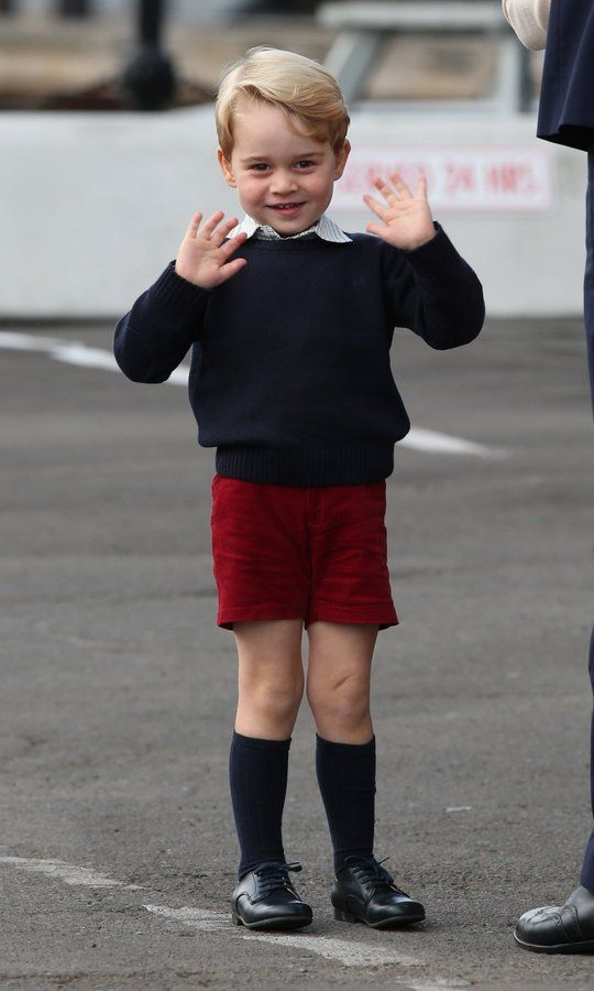 The Best Photos From Prince William And Kate Middleton S Family Royal Tour Of Canada Prince William And Kate Prince George Prince George Clothes