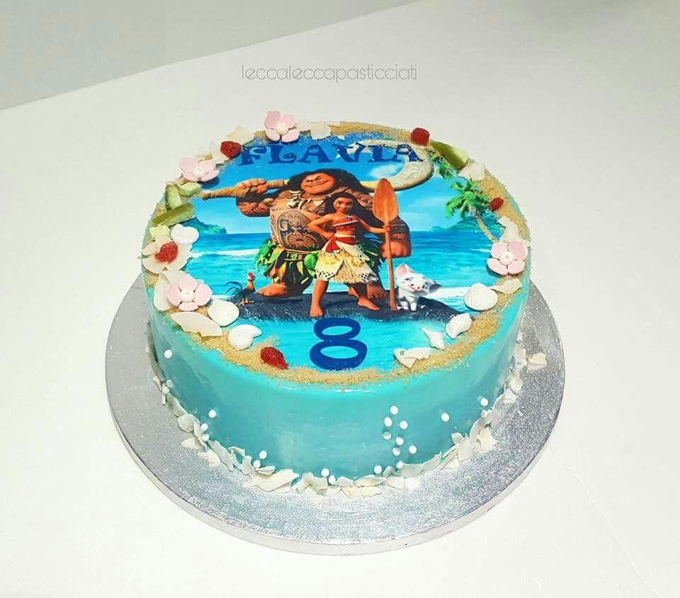 Moana cake Gteaux Pinterest Moana Cake and Birthdays