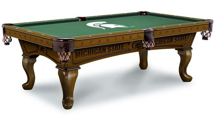 Michigan State University Spartans Pool Table At Www