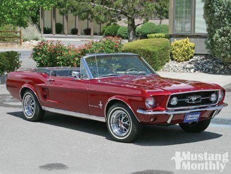 1967 Ford Mustang Convertible Neighborhood Watch Mustang