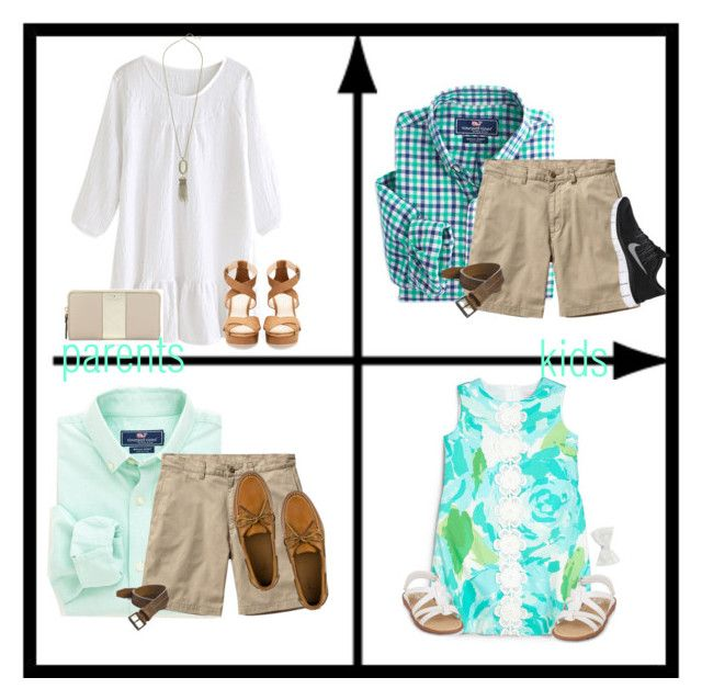 """what a preppy family! ~ Easter :)"" by lydia-hh ❤ liked on Polyvore featuring Vineyard Vines, Patagonia, Trask, Lilly Pulitzer, Sperry, NIKE, Kendra Scott, Pull&Bear, Kate Spade and Decree"