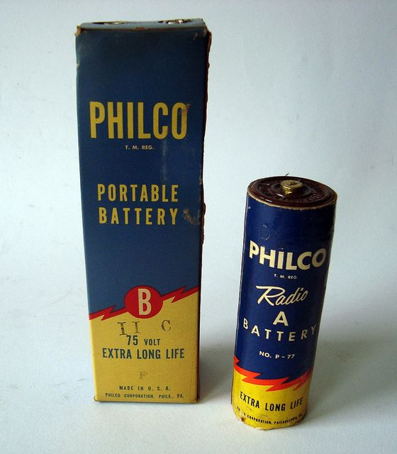 Philco - Portable Battery Packaging