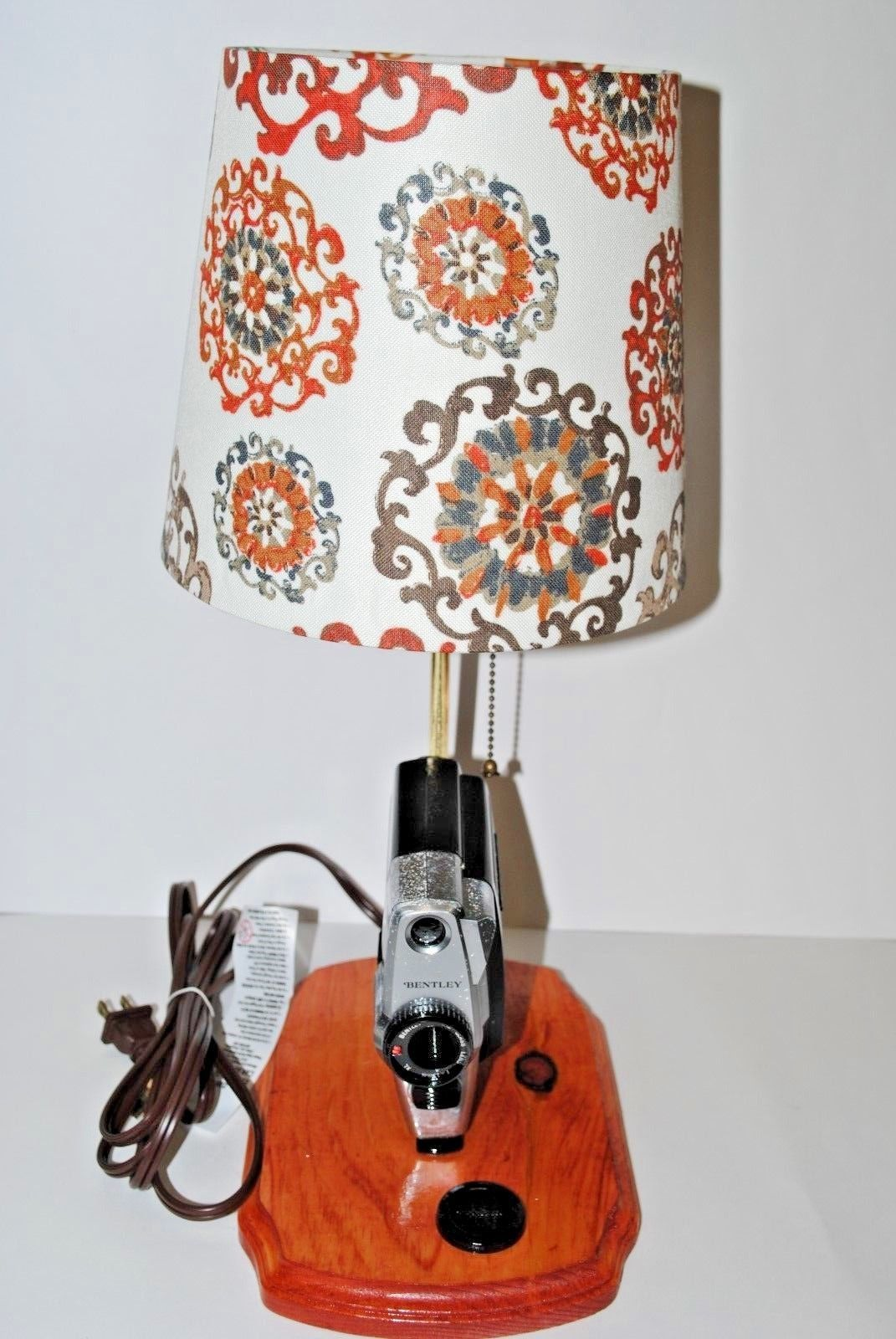 Vintage Photo Camera Table Lamp.Table LampVintage Bentley photo ...