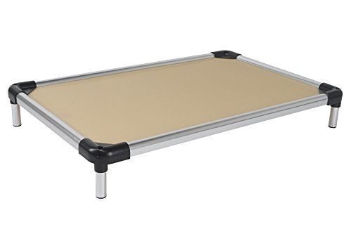 K9 Ballistics Cujo Cot Raised Aluminum Bed Preassembled Tan Xlarge 27x44x6 See This Great Product Indestructable Dog Bed Elevated Dog Bed Dog Bed