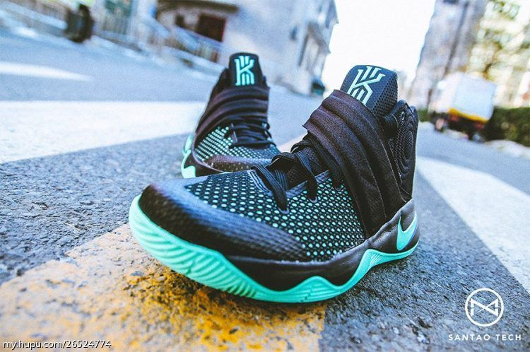 pretty nice c4f0d d5fed Nike Kyrie 2 Green Glow