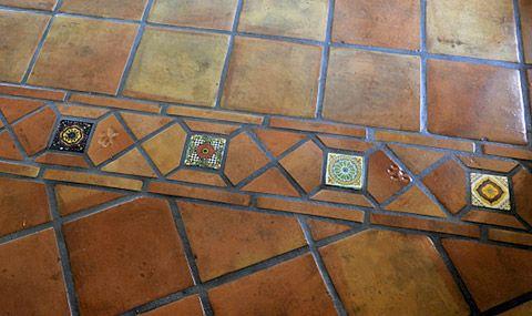 Methods of sealing and finishing Saltillo terra cotta floor tiles