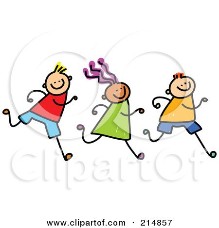 royalty free rf clipart illustration of a childs sketch of a row rh pinterest com free clipart running track free running clipart images