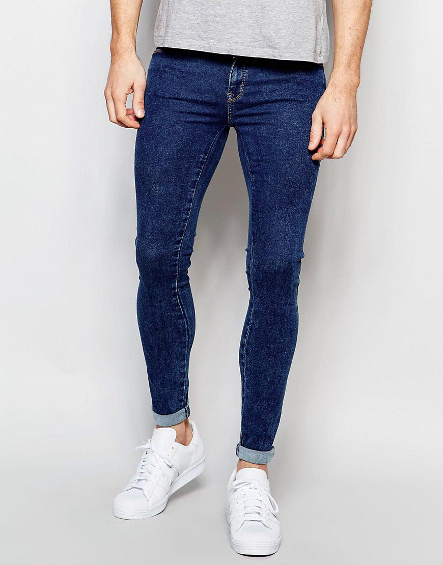 Dr Denim Jeans Dixy Extreme Super Skinny 70s Stone Wash  59ca8baefc