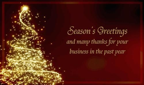 Pin On Corporate Business Christmas Cards