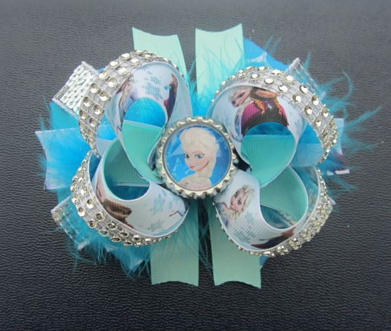 Disney Frozen Boutique Hair Bow! on Etsy, $8.50