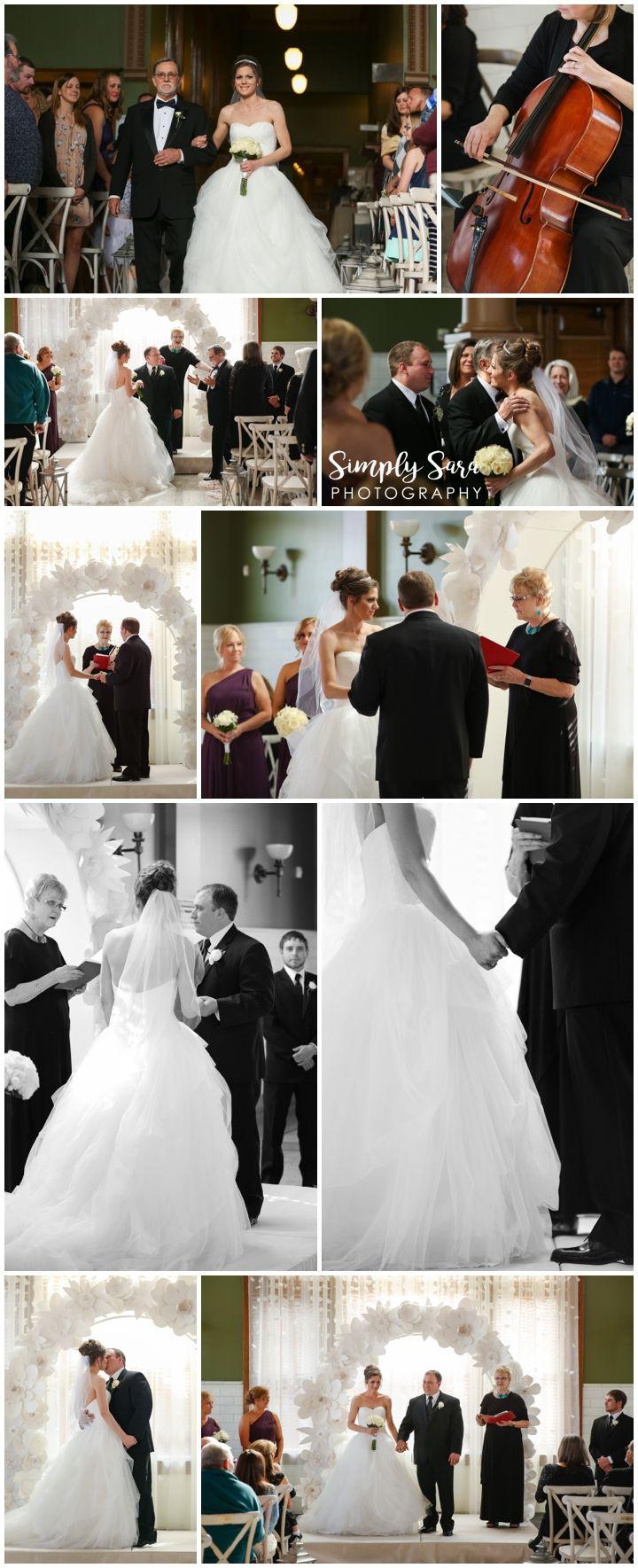 Wedding Photo Ideas - Ceremony - Bride - Groom - Officiant - String ...
