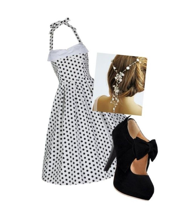 black and white by missjmh on Polyvore featuring moda