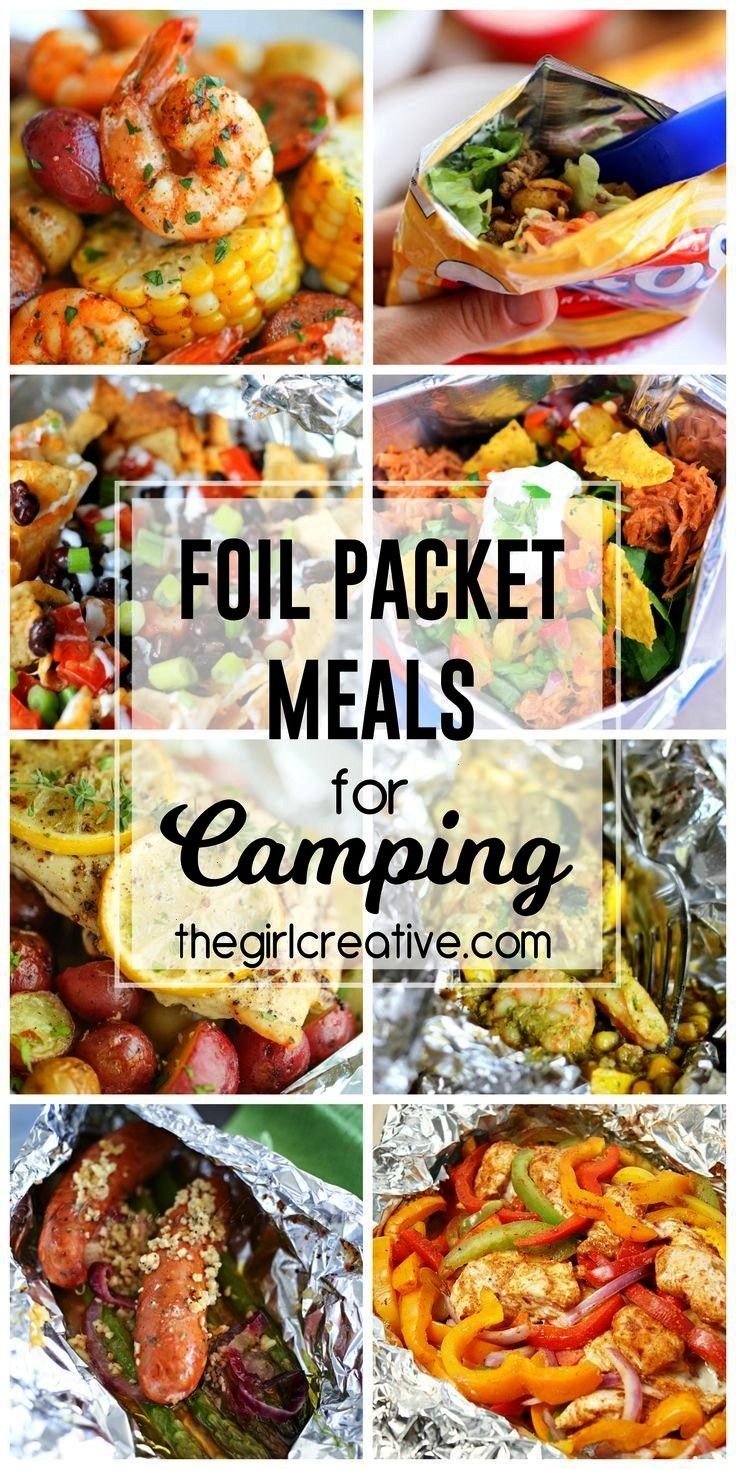 Foil Packet Meals for Camping -  Try these delicious foil packet meals for camping on your next cam