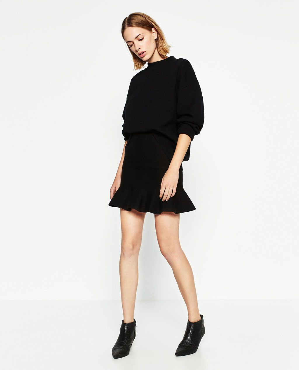 KNIT SKIRT-NEW IN-WOMAN | ZARA United States | wish-casual ...