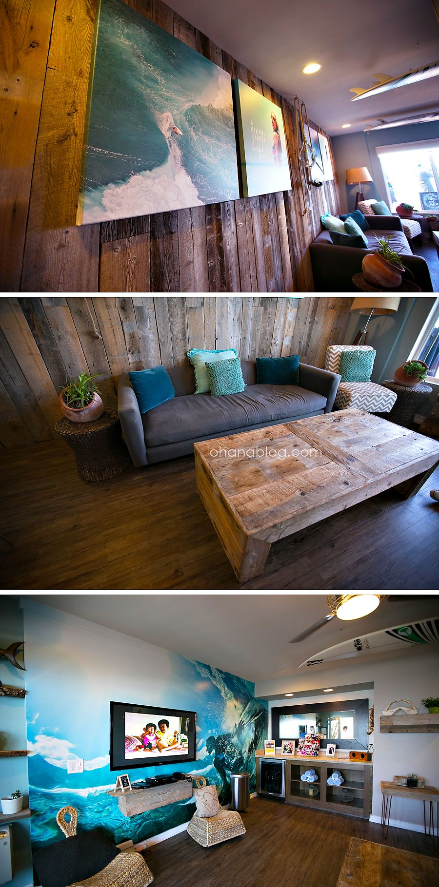 Charming San Diego // Surf Shack // Surf Home Decor