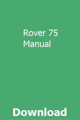 Rover 75 Manual Manual Nissan Pulsar Used Wheels