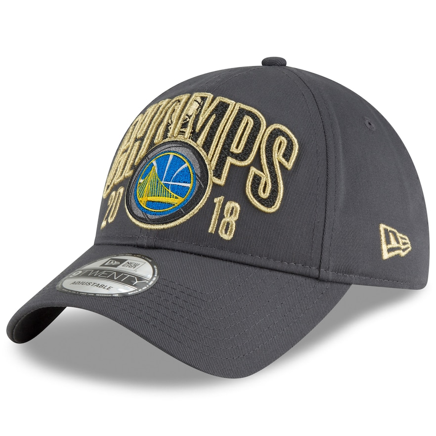 2086962d2c18 Adult New Era Golden State Warriors 2018 NBA Finals Champions 9TWENTY  Adjustable Cap