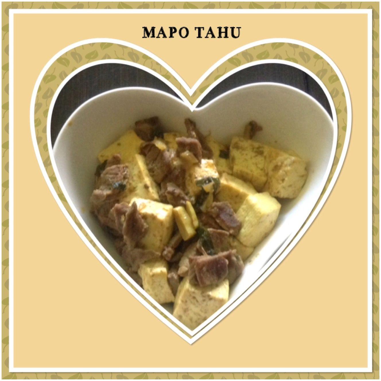 MAPO TOFU Food, Indonesian food, Tofu