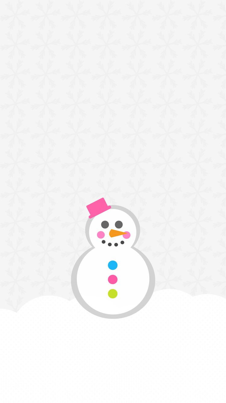 Christmas Xmas Wallpaper Iphone Background Snow Snowman Grey