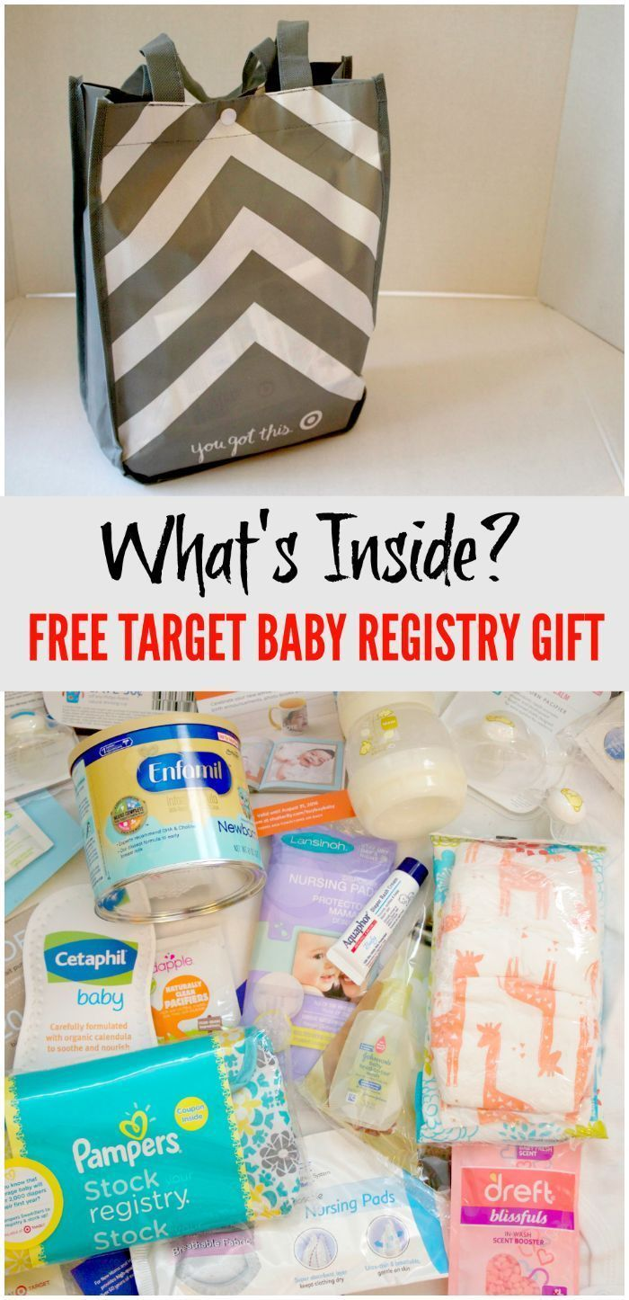 Free Baby Registry Gifts with Target Baby Shower Gift