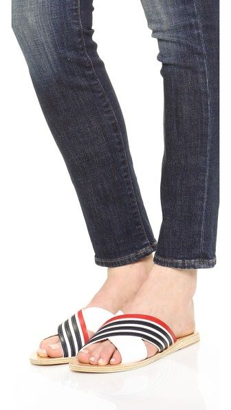 Ancient Greek Sandals 'Thais Stripe' sandals Rj192QJ