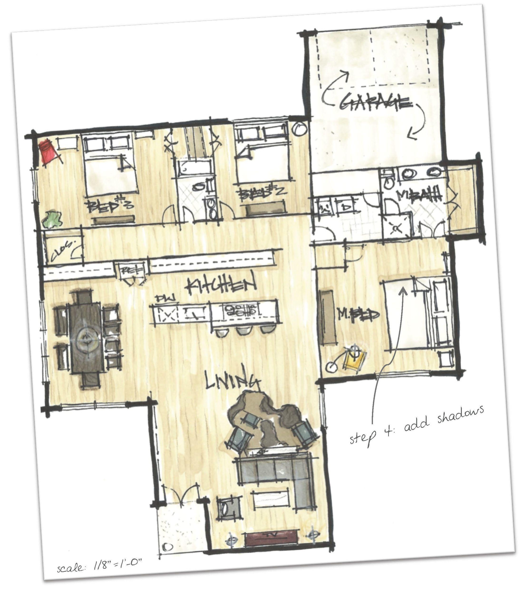 Floor Plan Graphics Plan Sketch Floor Plan Sketch Interior Design Sketches