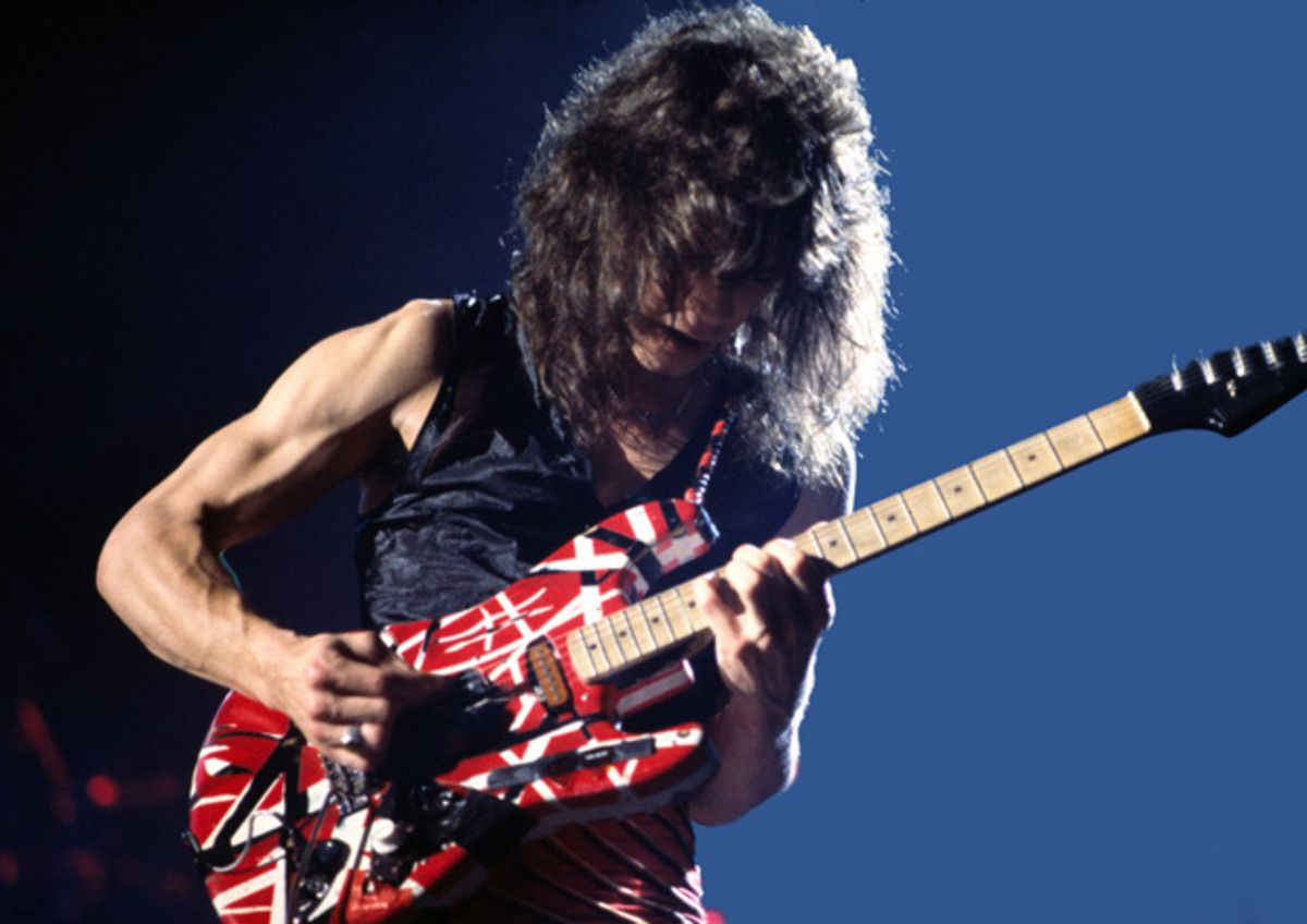 Hear Eddie Van Halen S Isolated Guitar From Mean Street And Unchained Van Halen Eddie Van Halen Guitar