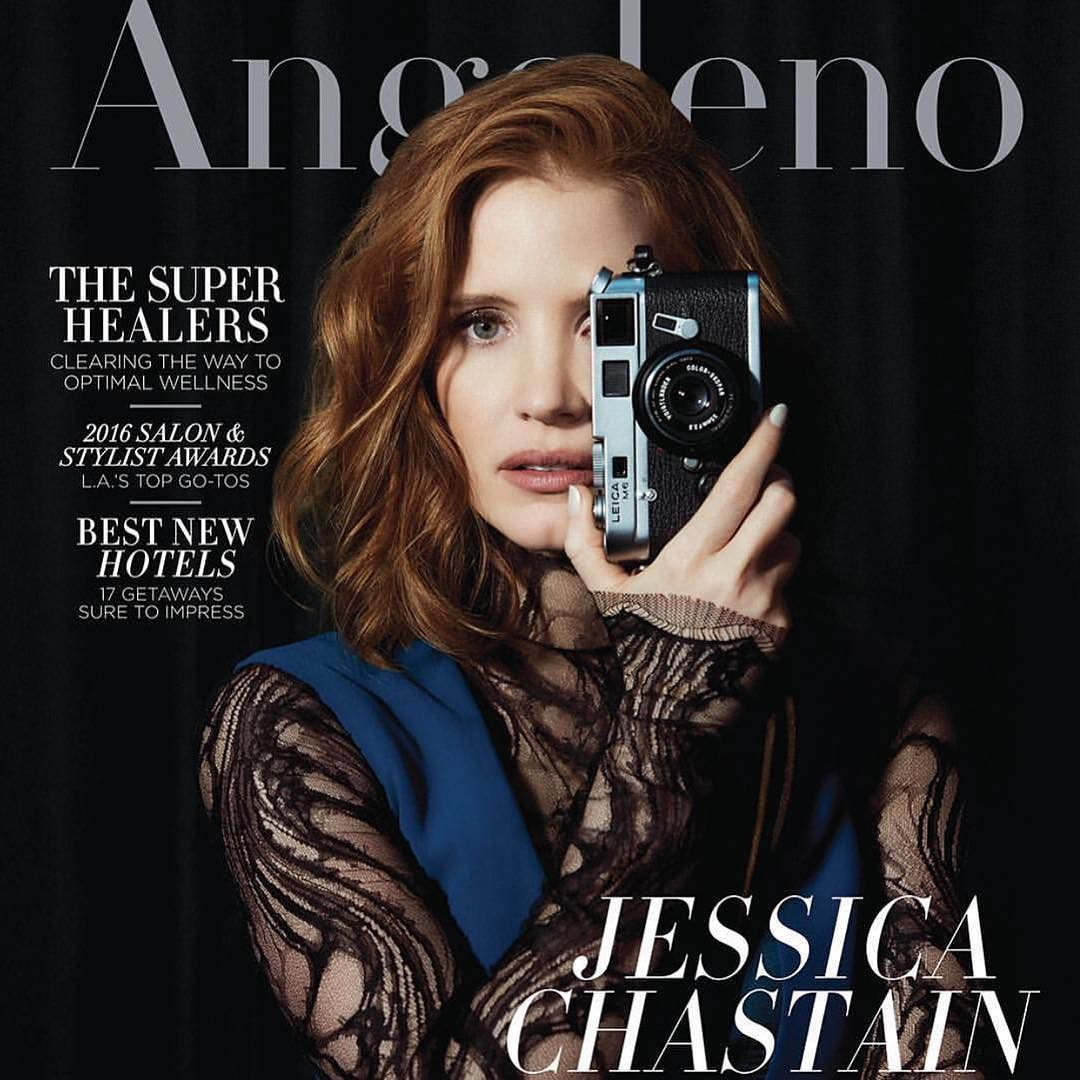 Jessica Chastain by Brian Bowen Smith for Modern Luxury