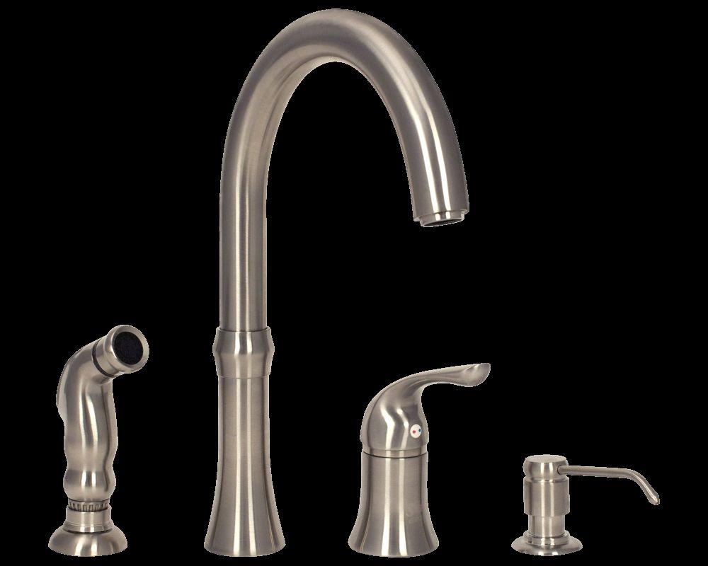 Kitchen Faucet 4 Hole Chrome | http://latulu.info/feed/ | Pinterest ...