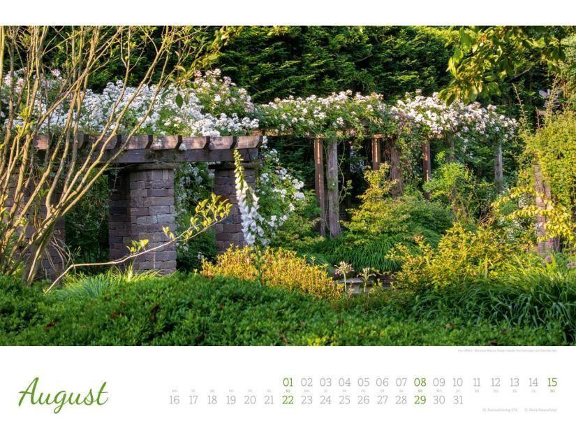 Zauberhafte Landgarten Kalender 2021 Garten Landgarten Zauberhaft