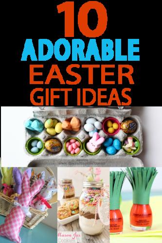 10 adorable easter gift ideas easter bunny bunny and easter these little easter gift ideas are perfect for a hostess gift a neighbor treat negle Gallery
