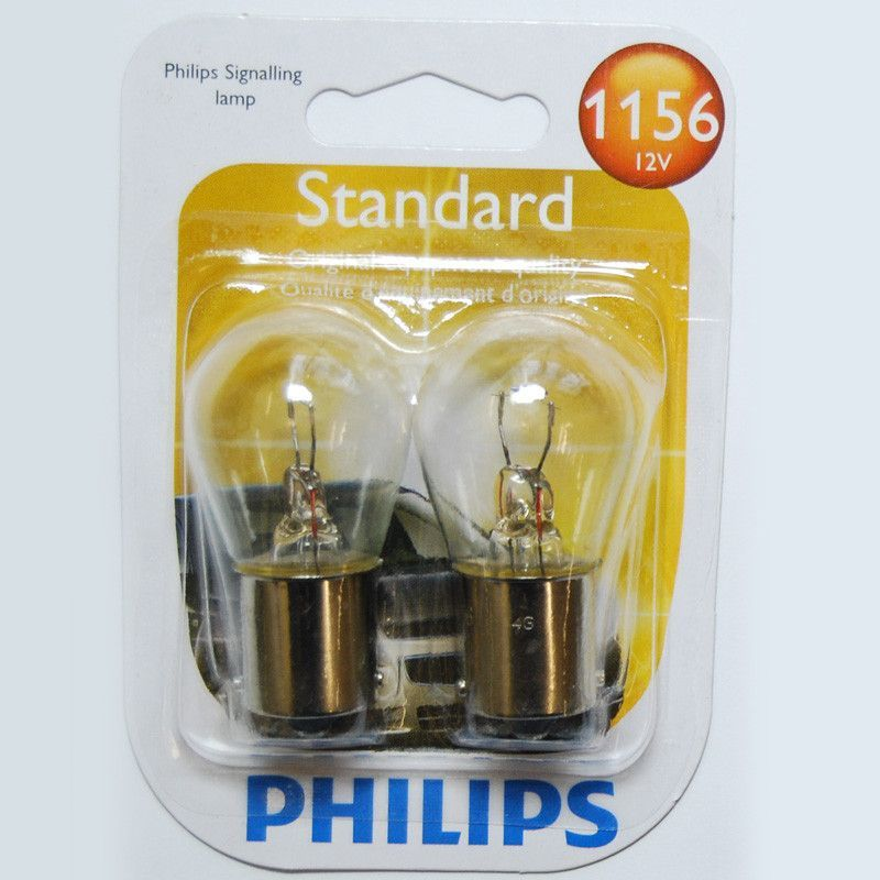 Philips 1156 S8 12v Ba15s Base Automotive Miniature Light Bulb