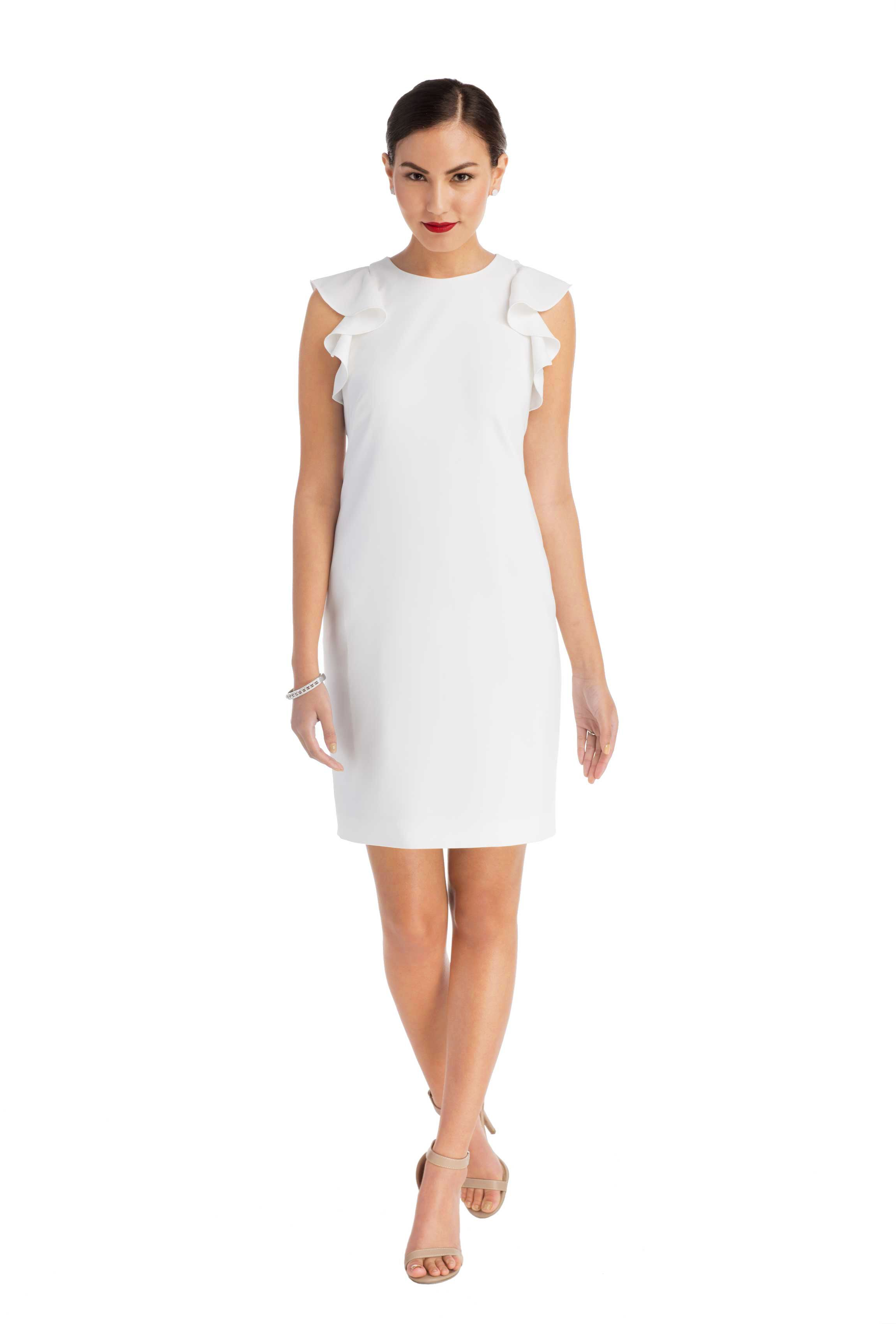 7 Designer Little White Dresses That You Can Rent For Your