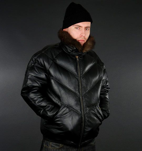 31640e826 Double Goose Down Leather Jackets | For Him | Jackets, Goose coats ...