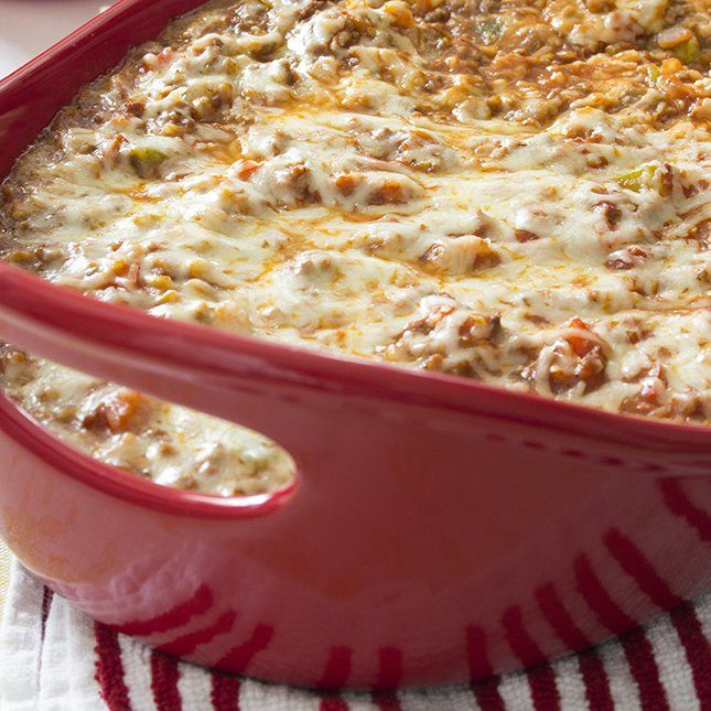 Stuffed Peppers Get A Makeover In This Decadent Filling And Skinny Stuffed Pepper Casserole Recipes Cooking Recipes Recipes Low Calorie Casserole
