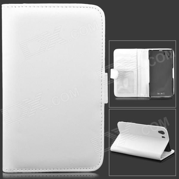 Color: White; Brand: N/A; Model: N/A; Material: Lambskin; Quantity: 1 Piece; Shade Of Color: White; Compatible Models: Sony Xperia Z1 / Xperia i1 L39h; Other Features: Protects your device from scratches, dust and shock; Packing List: 1 x Protective case; http://j.mp/1kUqocg