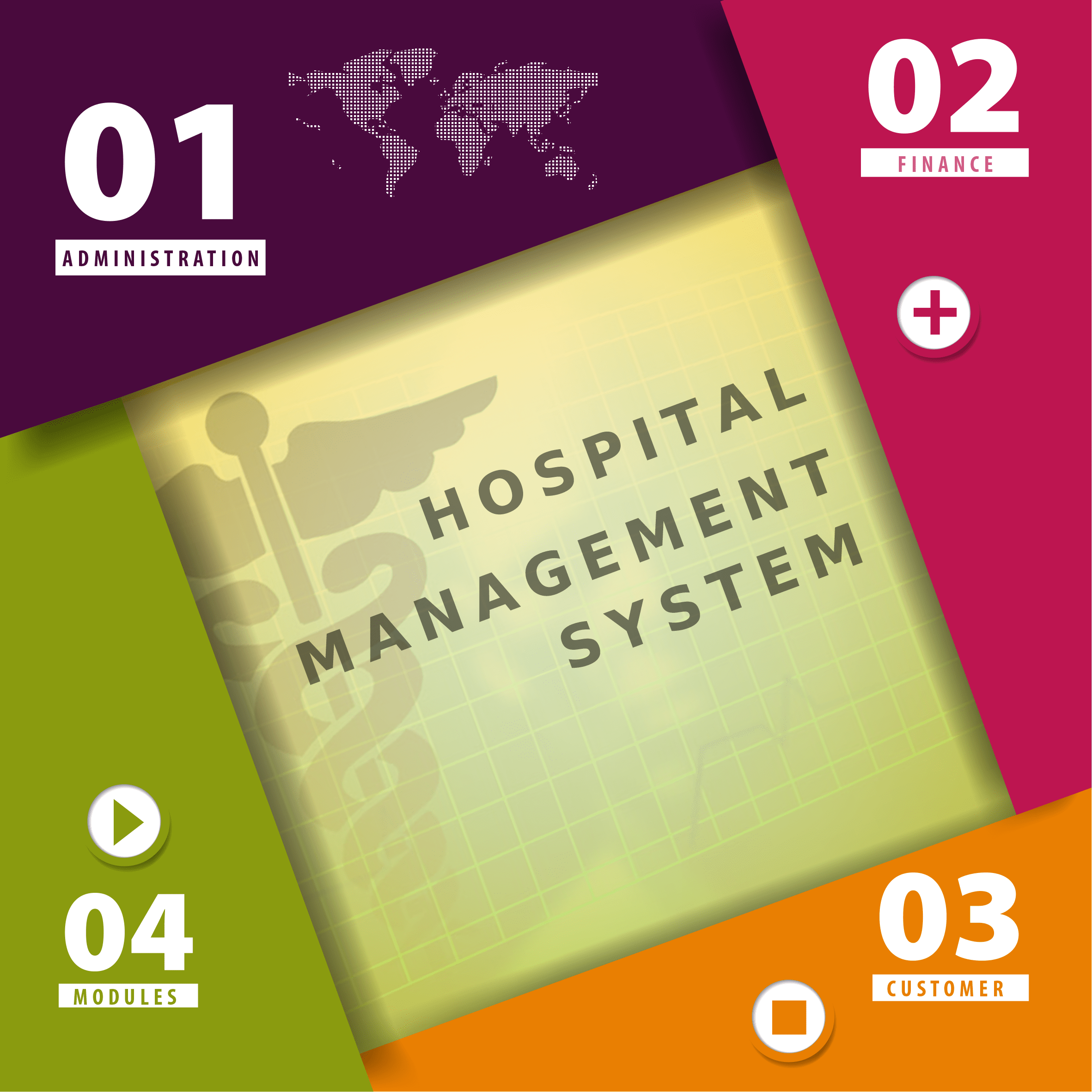 Hospital Management Software The application have