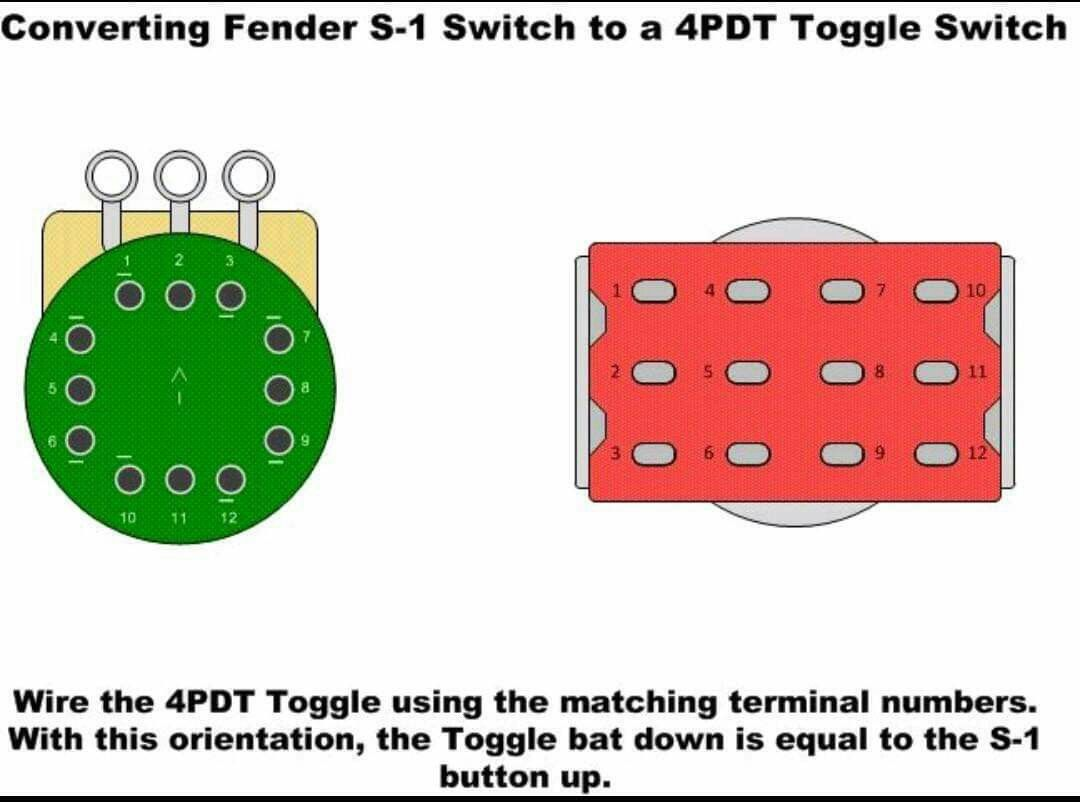 Using a 40PDT switch in place of an S40 switch   Toggle switch ...