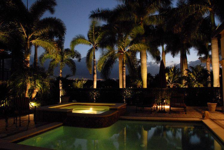 How To Create The Perfect Outdoor Living Space Landscape Lighting Design Backyard Lighting Volt Landscape Lighting