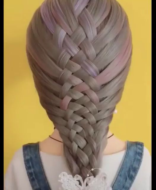 Peinados fáciles para cabello largo, #Fácil #Pelo #Peinados # Largos