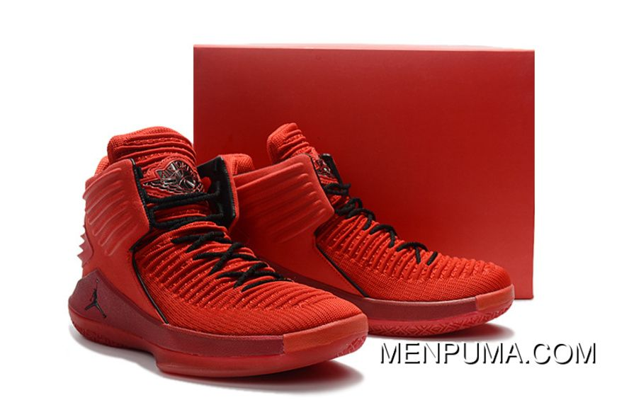 1d438312a23b50 Big Kids Jordan 32 All Red AJ 32 For Girls Women New Style ...